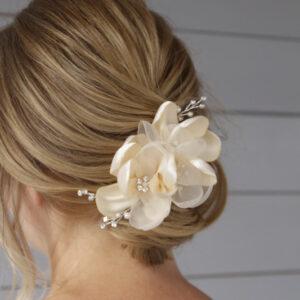 Haarklammer Blumen spanische Hochzeit Flamenco