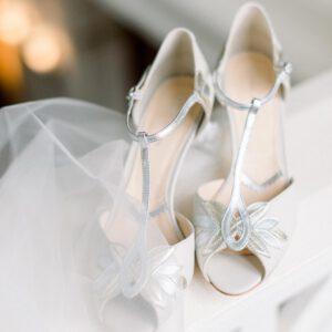 Brautschuhe vintage Hochzeit T-Bar Lederschuh ivory 20er Jahre (2)
