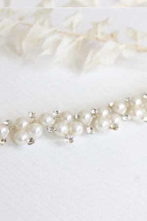 Perlen Strass Armband Bride